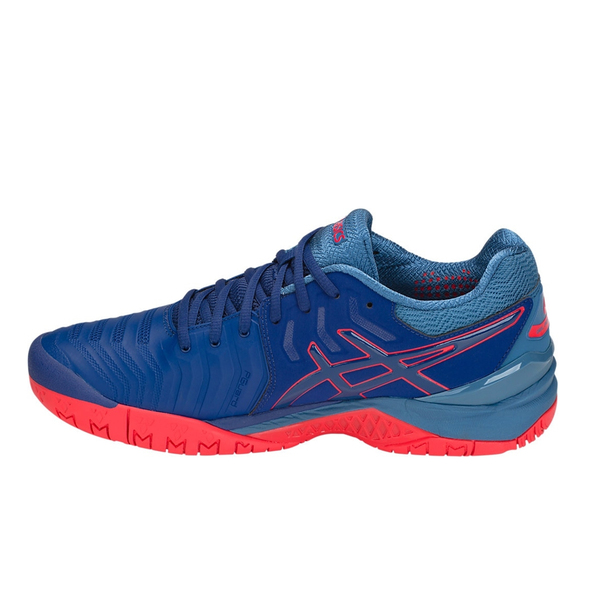 Giày tennis Asics Gel Resolution 7 Blue/Red K.E701Y-400
