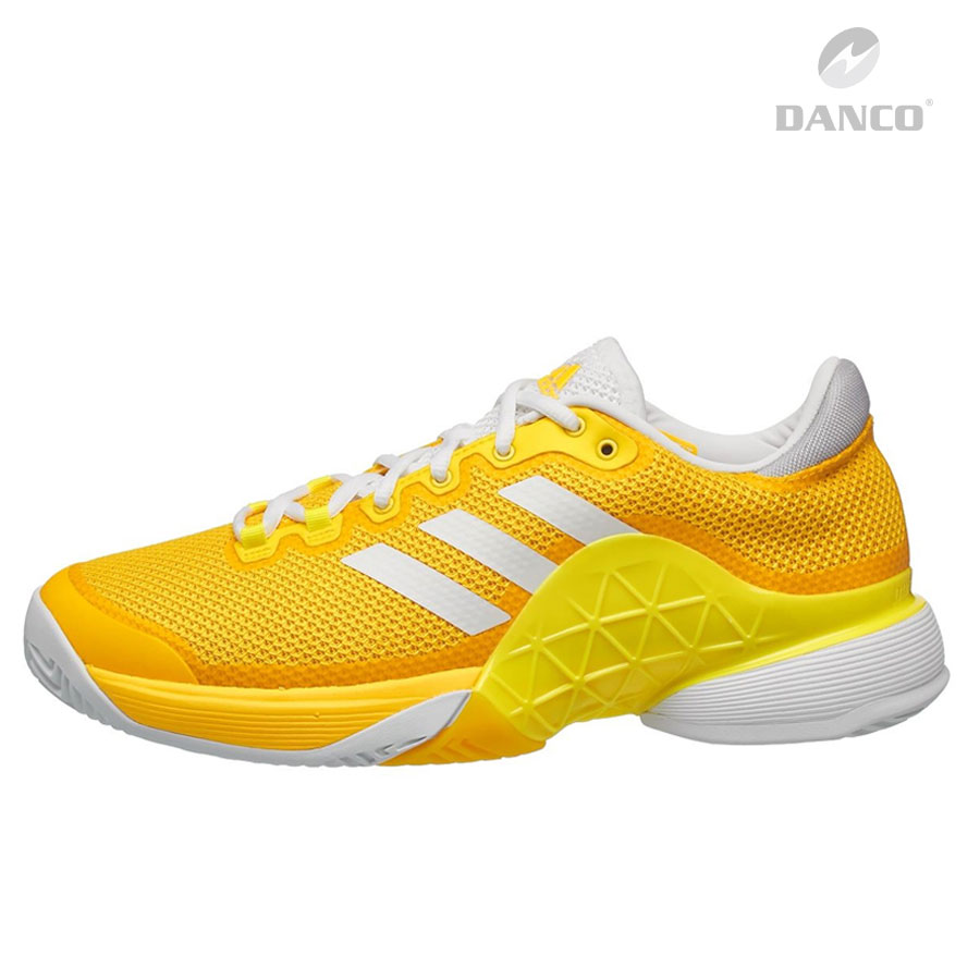 Giày Tennis Adidas Baricade Yellow/White 2017 K.BY1623