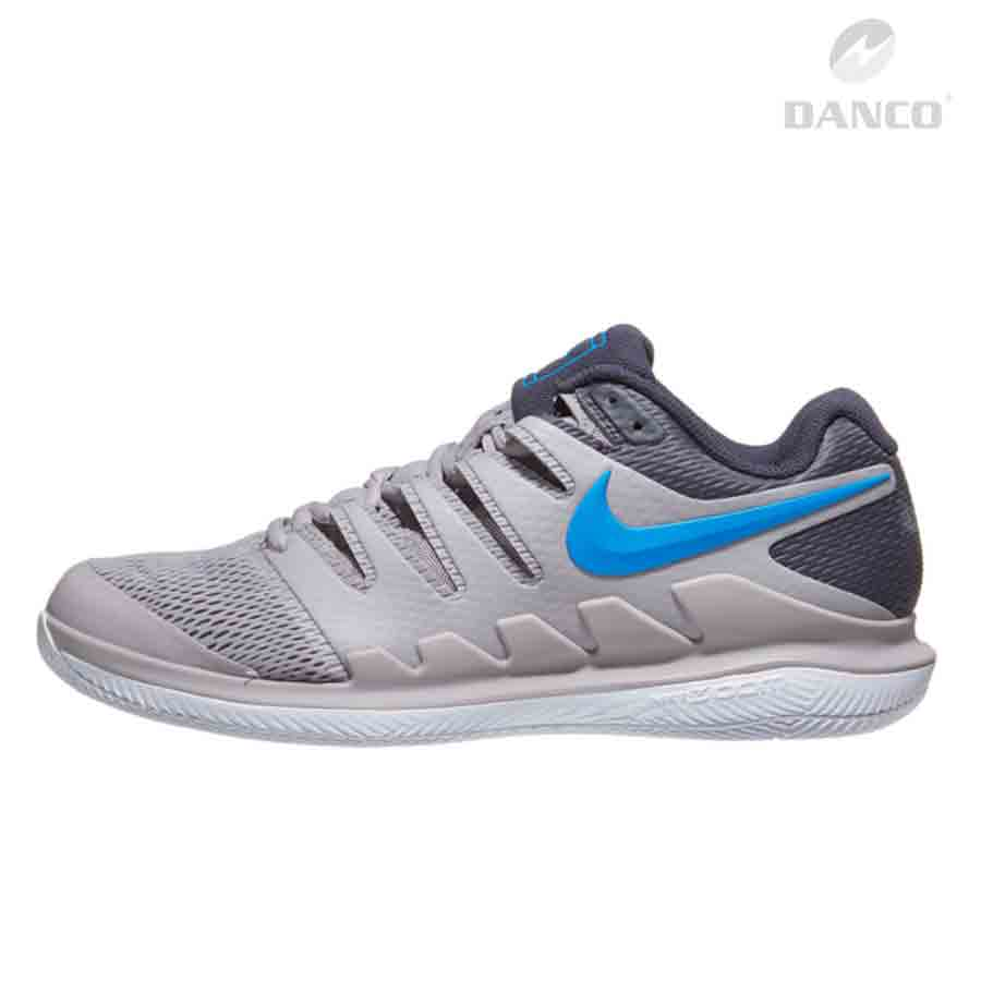 Giày Tennis Nike Air Zoom Vapor X Grey/Blue AA8030-002