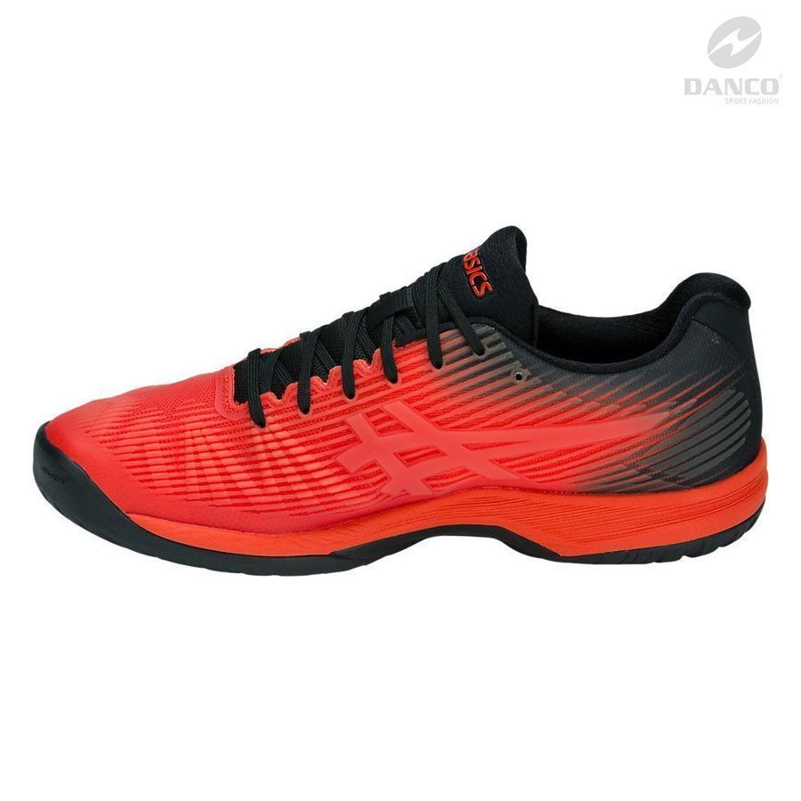 Giày tennis Asics Solution Speed FF Red/Black 2019 1041A003-808