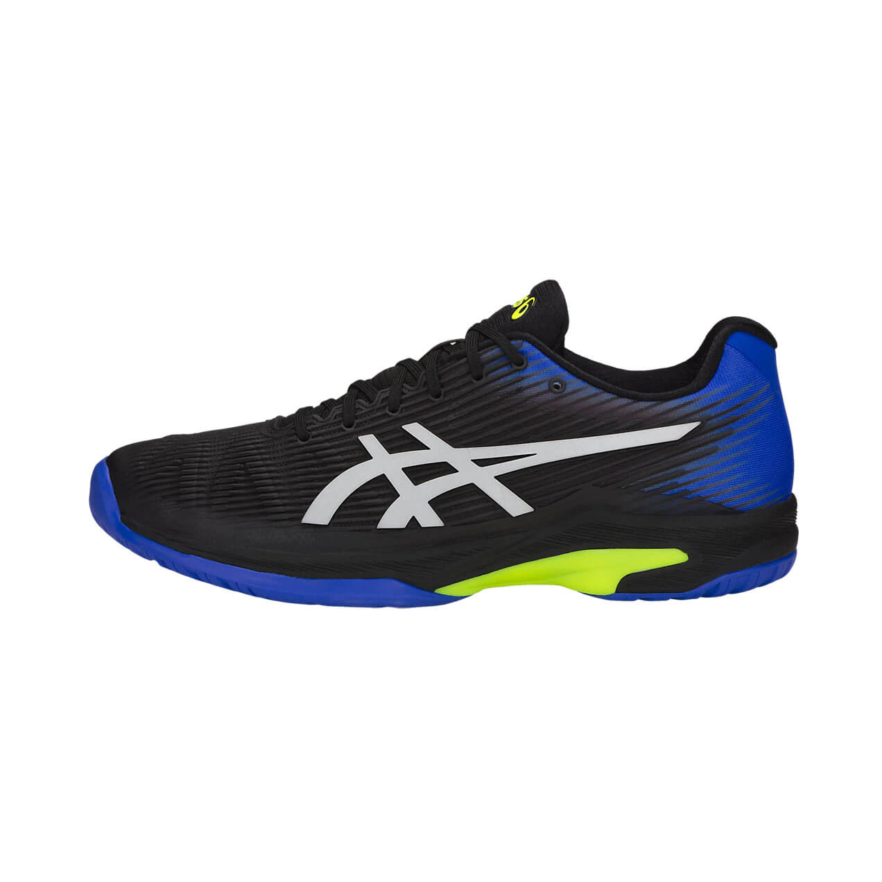 Giày Tennis Asics Solution Speed FF Black/Blue 1041A003-011