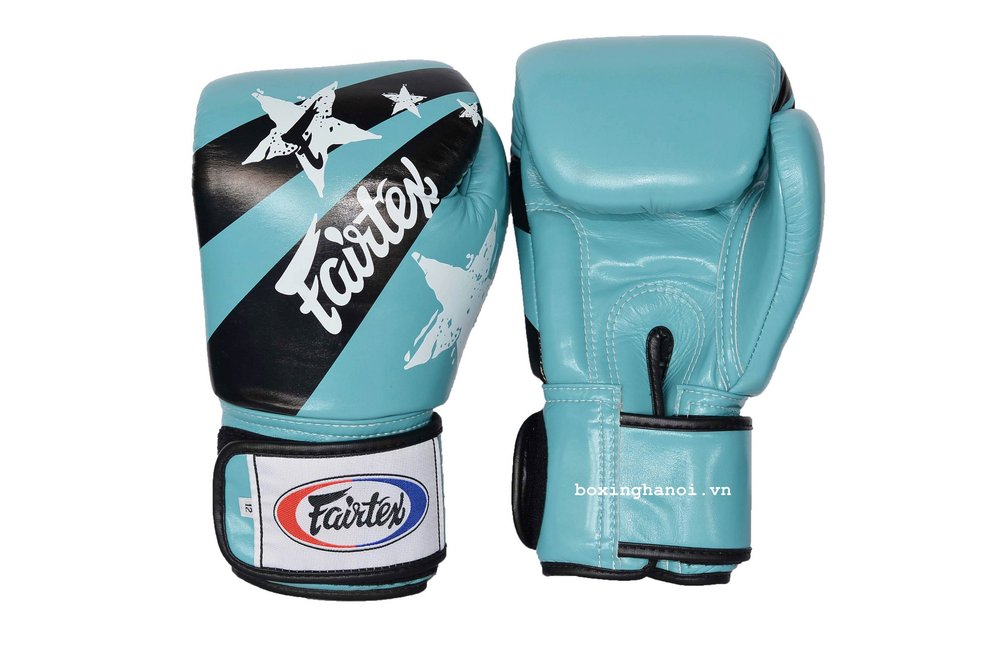 GĂNG TAY BOXING FAIRTEX NATION XANH