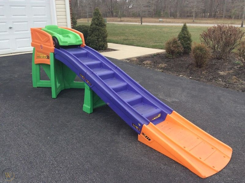 The Step2 Extreme Roller Coaster Ride-On Playset
