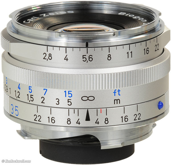 Zeiss 35mm f/2.8 ZM- 98%
