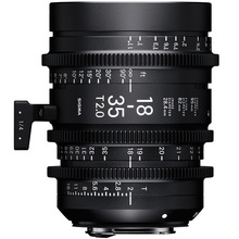Sigma 18-35mm T2 Cine High-Speed Zoom