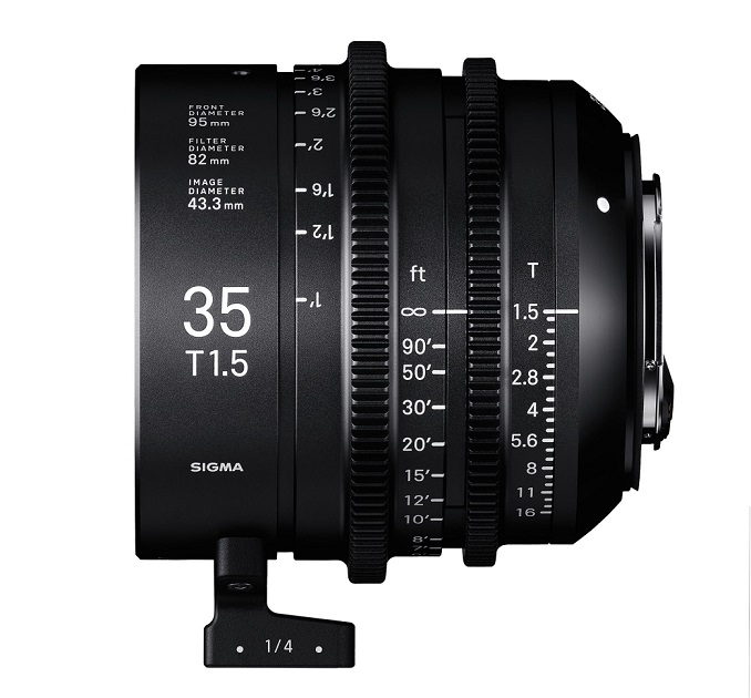 Sigma 35mm T1.5 FF High-Speed Prime