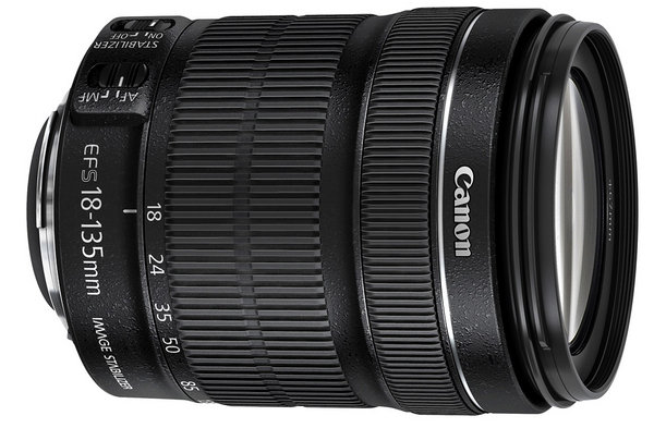 Canon 18-135mm F/3.5-5.6 IS - Mới 95%