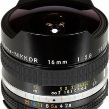 Canon 16mm F2.8 AIS Fisheys- Mới 98%