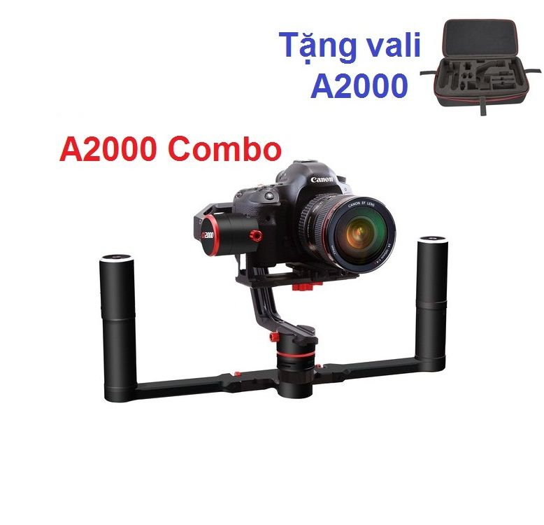 Feiyu a2000 3-Axis Gimbal & 2-Hand Holder Kit