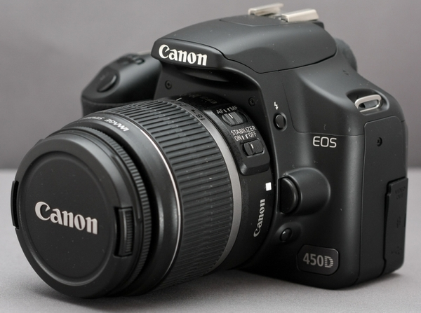 Canon 450D+18-55mm - Mới 90%