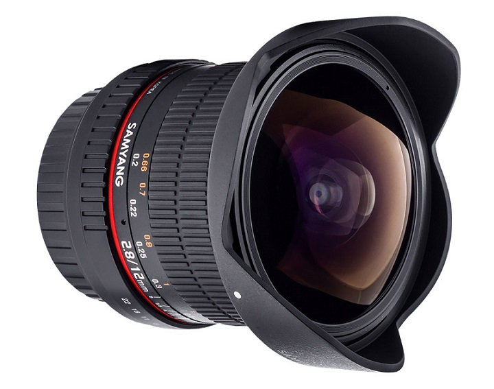 Samyang 12mm F2.8 - Full Frame - For Nikon - Mới 100%