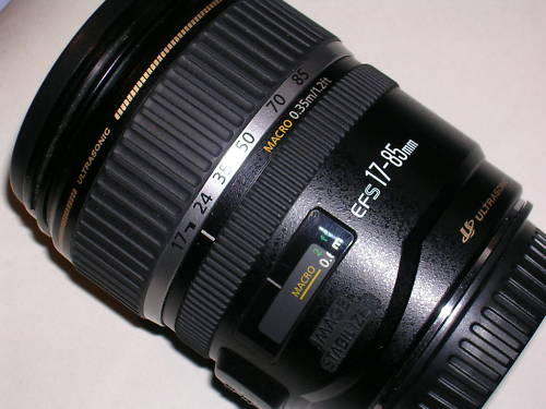 Canon 17-85mm F4-5.6 IS USM-Mới 95%