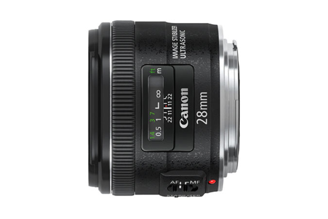 Canon 28mm F/2.8 EF - Mới 100%