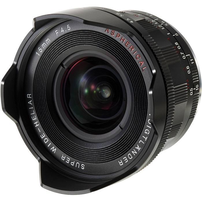 VOIGTLANDER 15MM F4.5 SUPER WIDE HELIAR III- E mount-95%