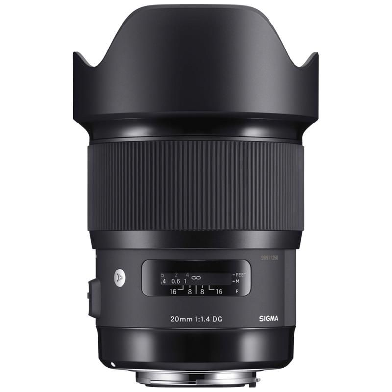 Sigma 20mm F/1.4 DG HSM Art For Ca/Ni- Nhập khẩu