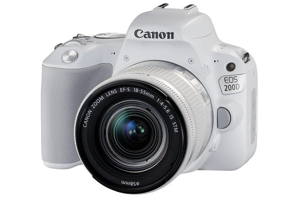 Canon 200D + 18-55mm STM (Trắng) -Mới 99%