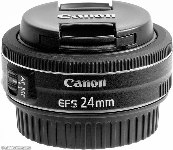 Canon 24mm F2.8 STM- mới 98%