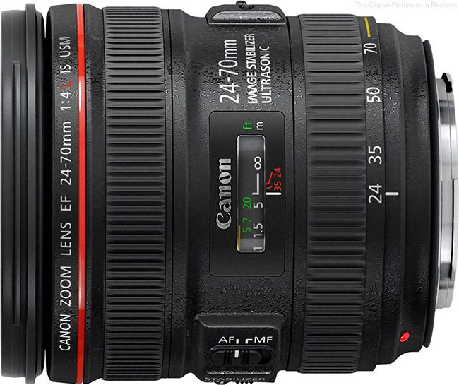 Canon 24-70mm F/4 L IS-Mới 95%
