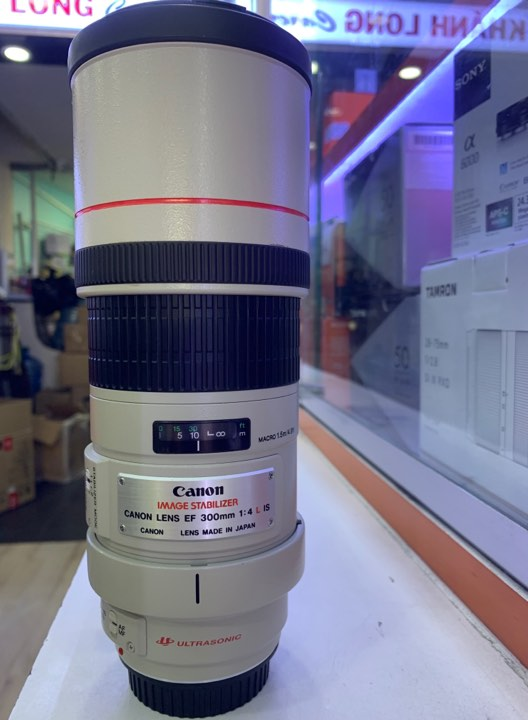 Canon 300mm F4 L IS EF - Mới 98%