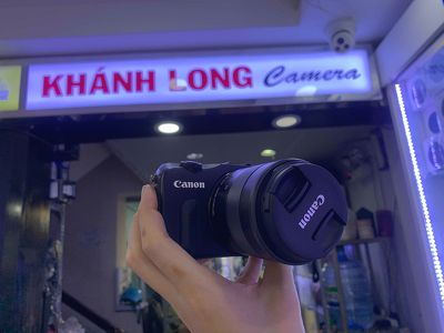 Canon EOS M + 18-55mm M - Mới 95%