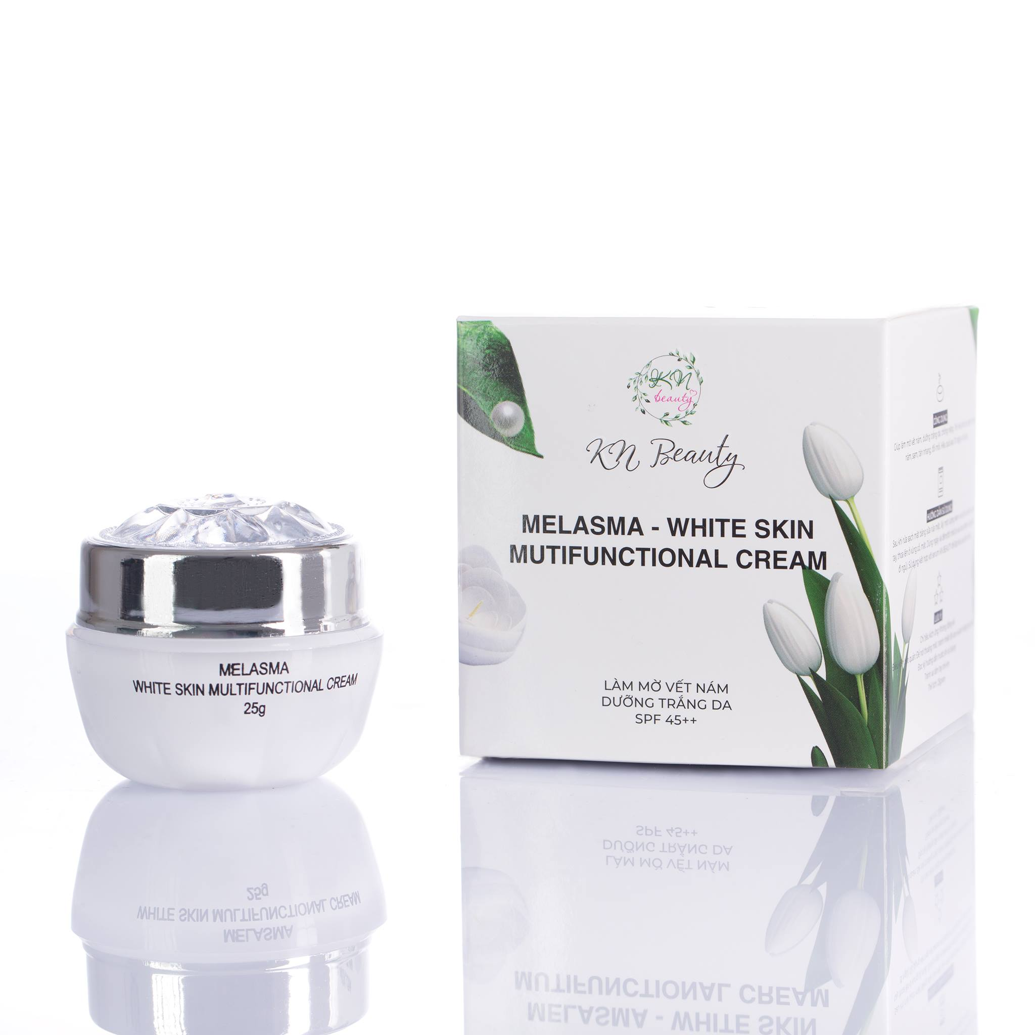 White skin multifunctional cream