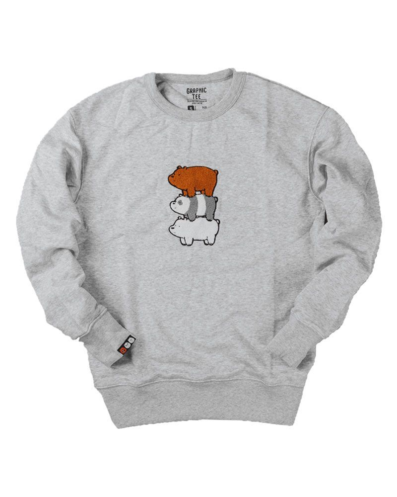 Spao Sweater Grey Bear - M