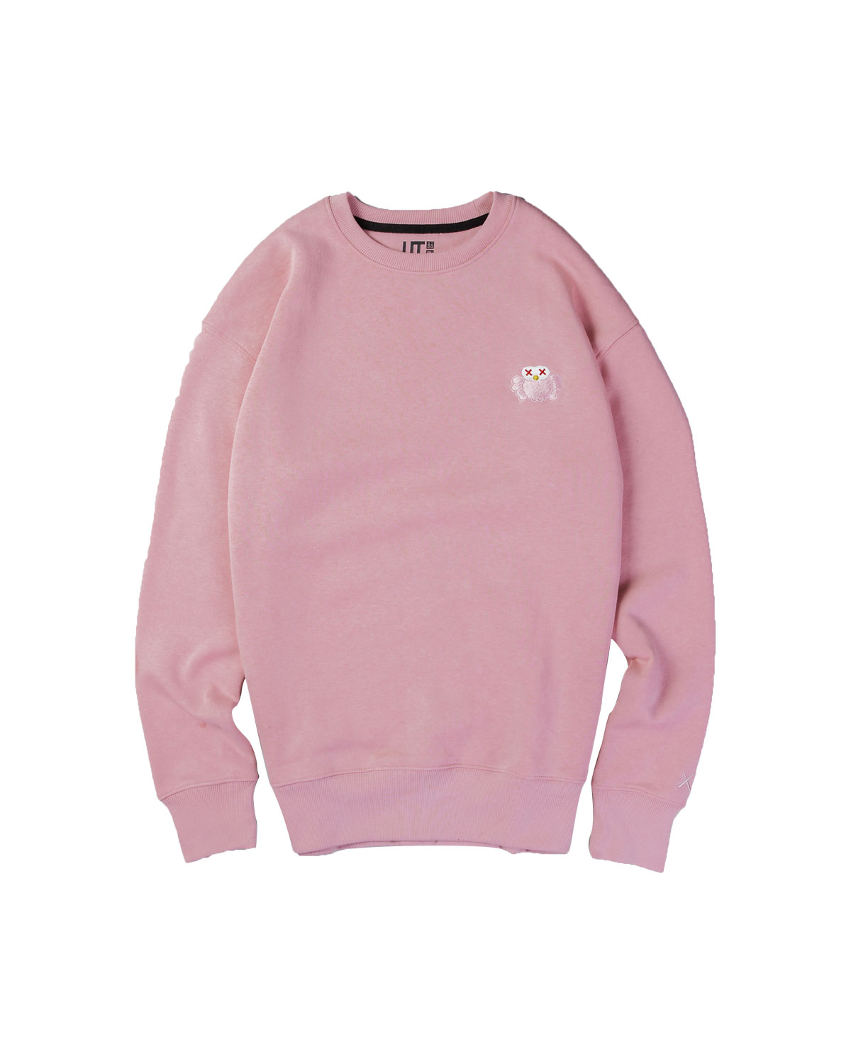 Uniqlo Sweater Kaws Sesame Pink - M