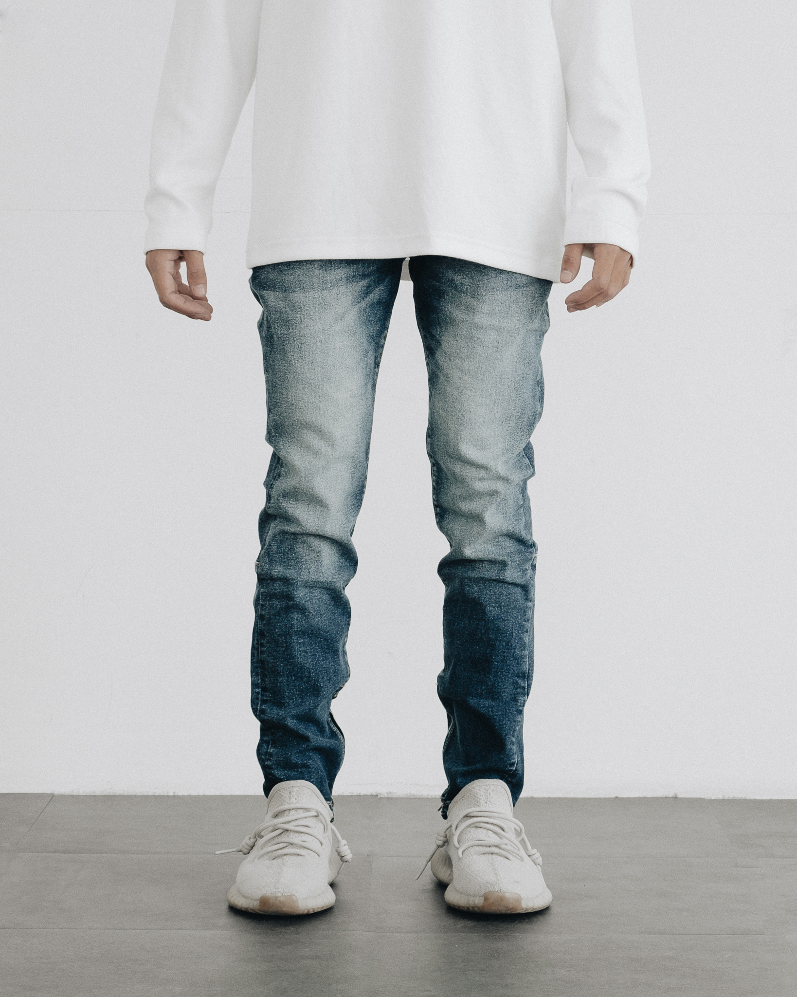 Pacsun Stacked Skinny Jeans