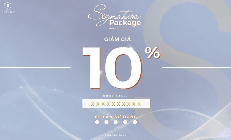 Signature Package 10%