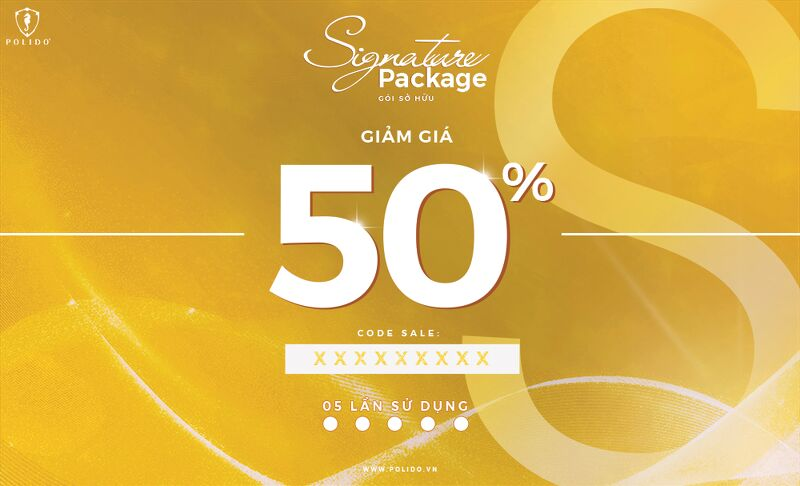 Signature Package 50%