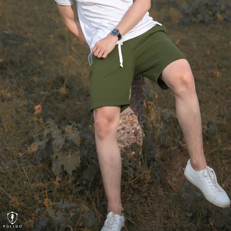 Shorts khaki basic D.K