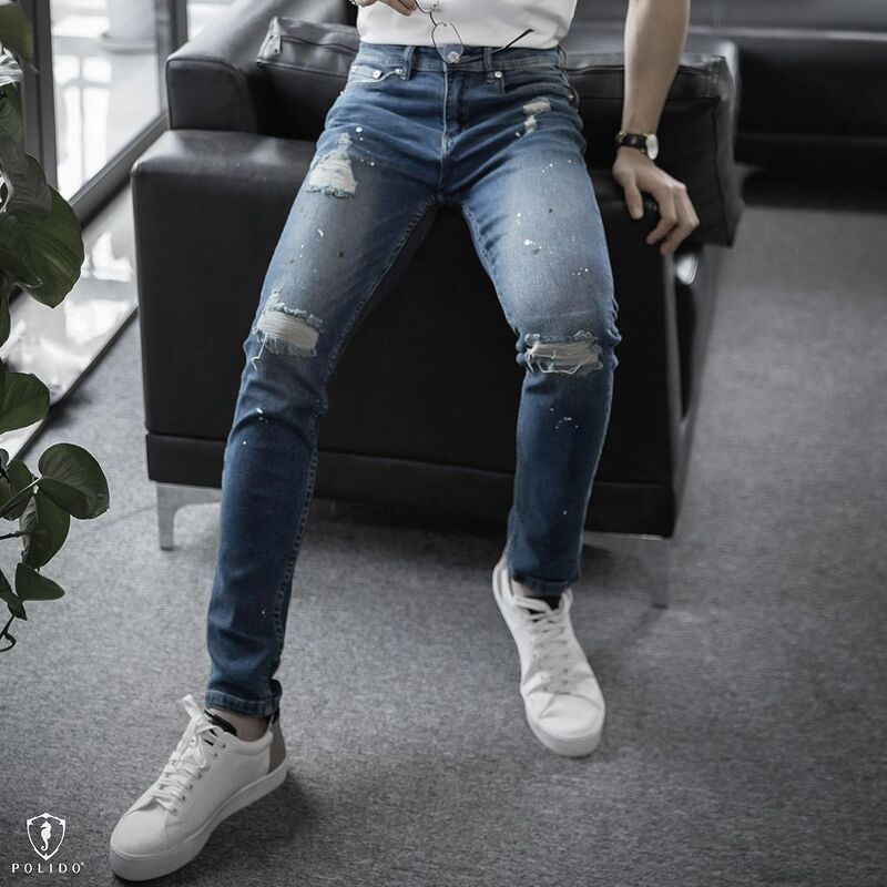 Quần jeans rách Super Brother