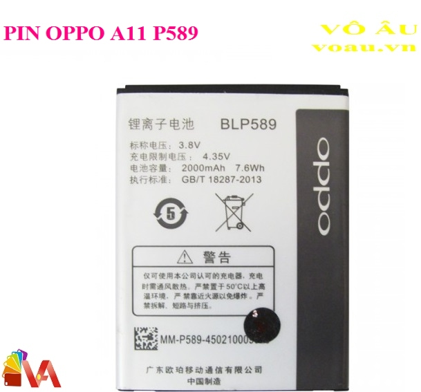 PIN OPPO A11 P589