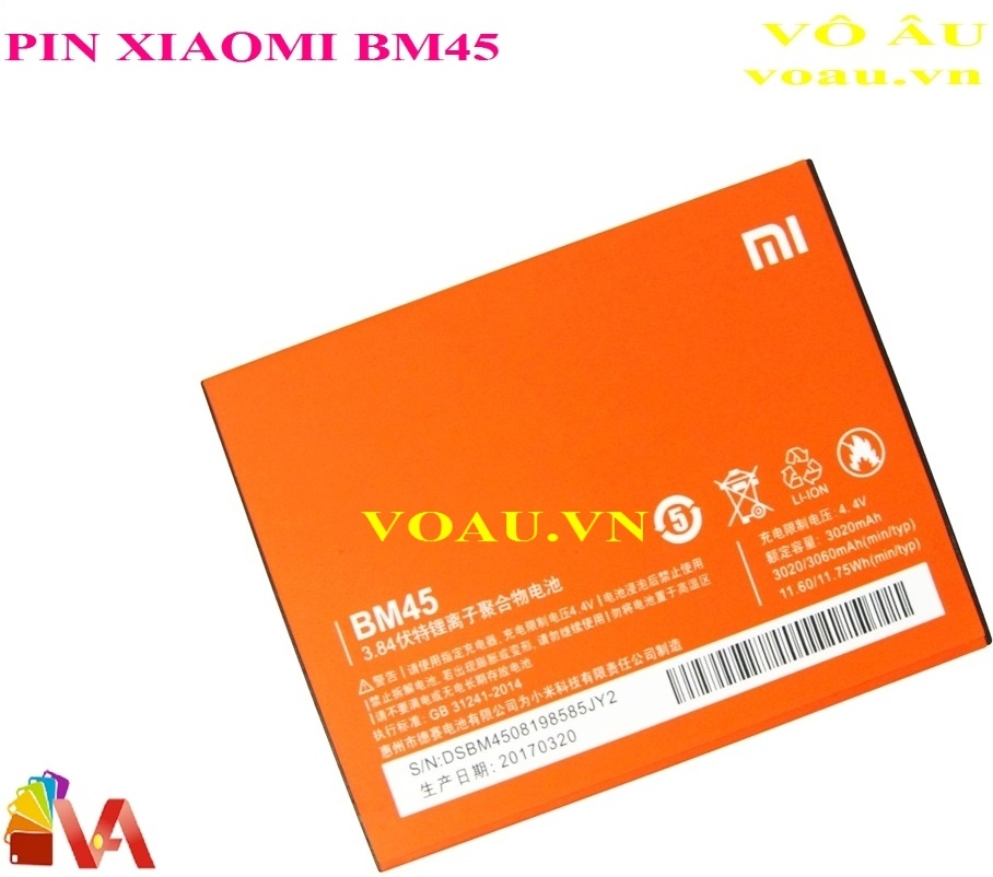 PIN XIAOMI BM45 REDMI NOTE 2