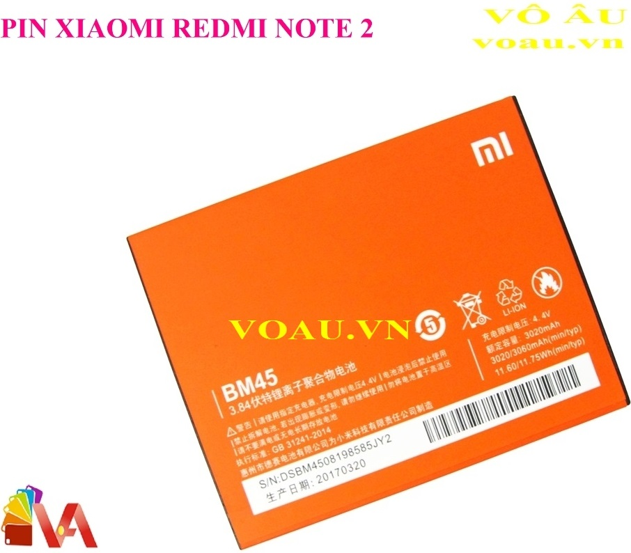 PIN XIAOMI REDMI NOTE 2 BM45