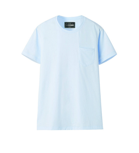 POCKET T-SHIRT (BLUE)