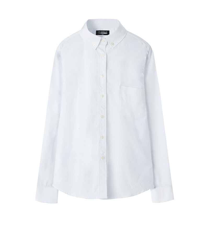 OXFORD SHIRT (SNOW)