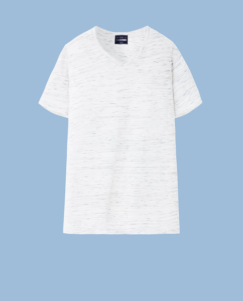 COTTON BLEND TEE (SALT)