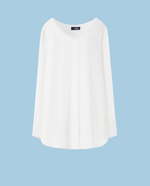OVERSIZED BLOUSE (WHITE)