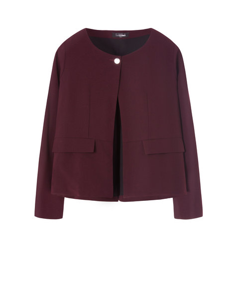BUTTON JACKET (VIOLET)