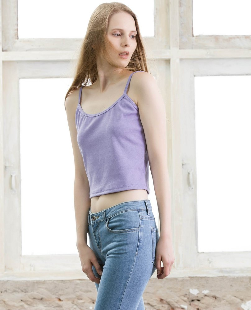 RIBBED CAMISOLE (VIOLET)