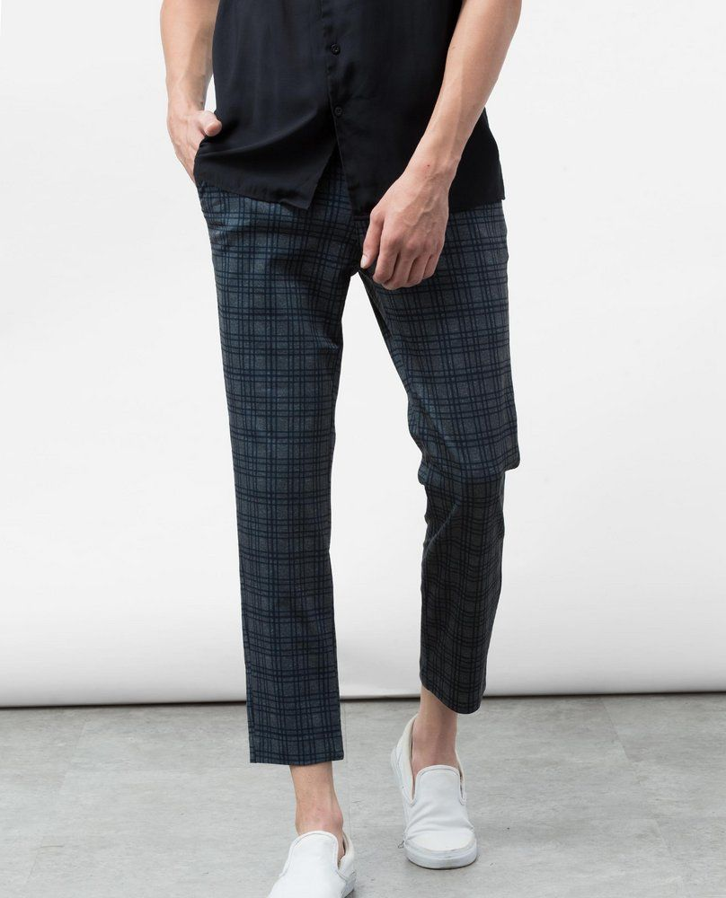 PRINTED TROUSERS (CHECKED)