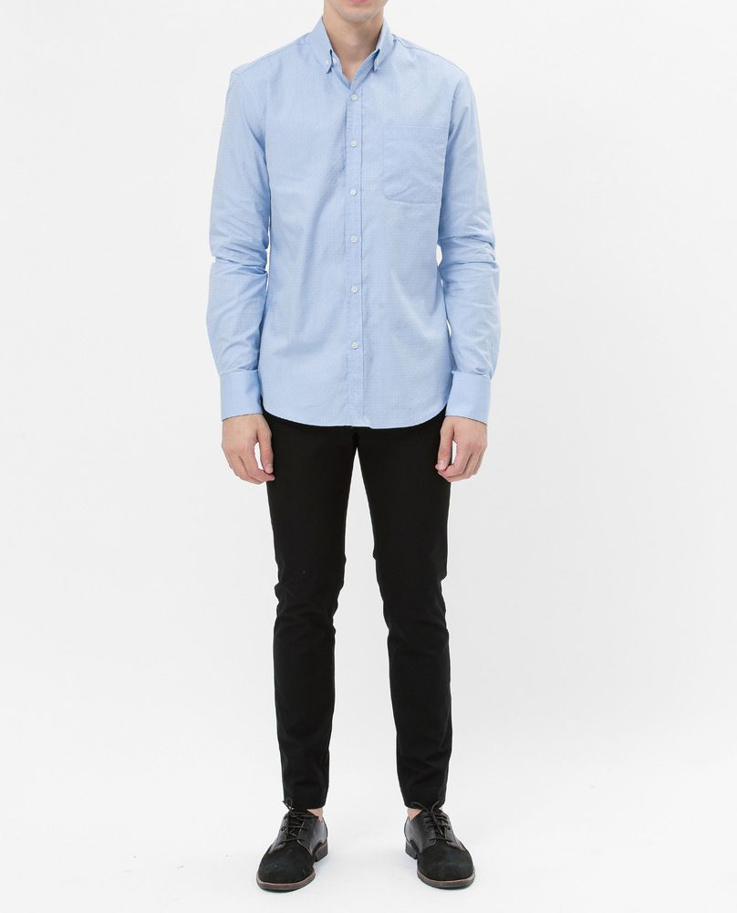 BASIC OXFORD SHIRT (POLKA)