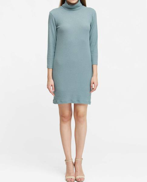 TURTLENCK DRESS (JADE)