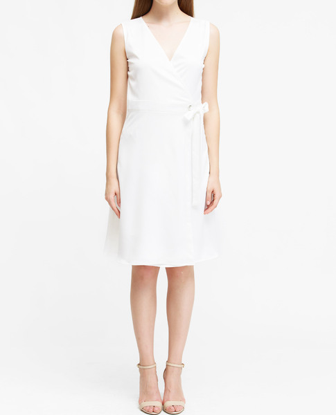 WRAP DRESS (WHITE)
