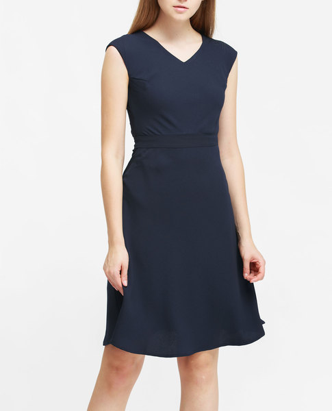 V-NECK DRESS (NAUTICA)