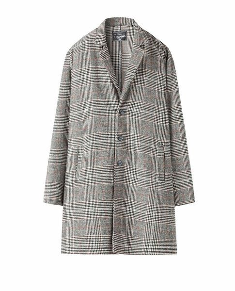 WOOL COAT (CHECKED)