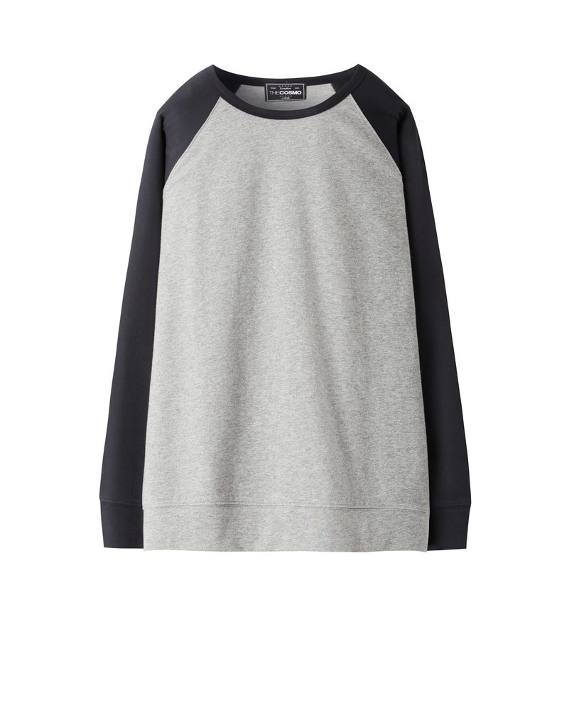 RAGLAN SWEATSHIRT (BLACK)