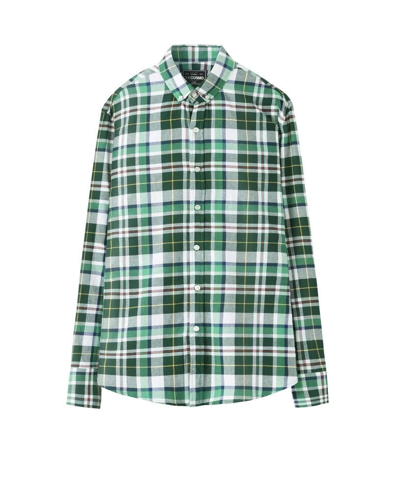 CHECKED SHIRT (PINE)