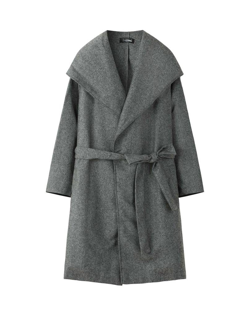 OVERSIZED COAT (COAL)